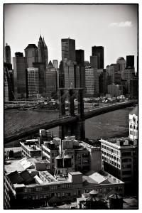 Brooklyn Bridge View In Sepia, A Photo By Madeline Ellis, Is Now Appearing In Under The Hat Magazine.